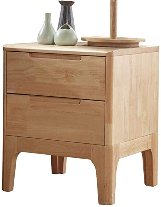 Amazon.com: Bedside table Stable Solid Wood Chest of Drawers .