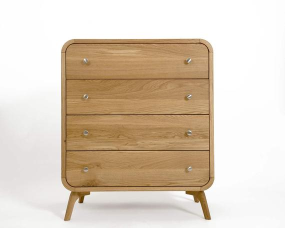 Solid Wood Bedroom Chest Of Drawers