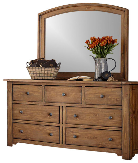 Solid wood chest of drawers for storage space and a natural .