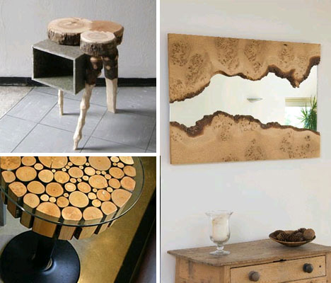 Real Rustic Contemporary Craft: Solid Wood Furniture Sets .