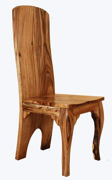 Solid Wood Chairs, Natural Wood Chairs, Elegant Rustic | Sillas de .