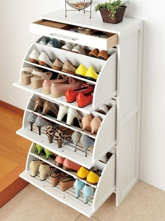Great space saver for a small closet or room. Shoe drawers from .