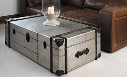 "Amazon.com: Richard's Trunk Coffee Table (49""x 32""x16""): Kitchen ."