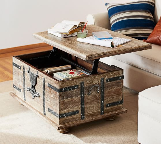Best Trunk Coffee Tables - 10 Stylish Coffee Tables with Stora