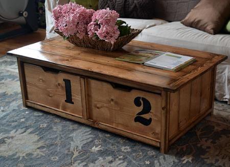 20 Sec Tidy Up Coffee Table | Diy storage coffee table, Coffee .