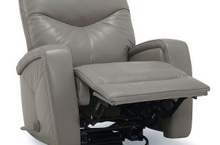 Furniture Erith Leather Swivel Rocker Recliner & Reviews .