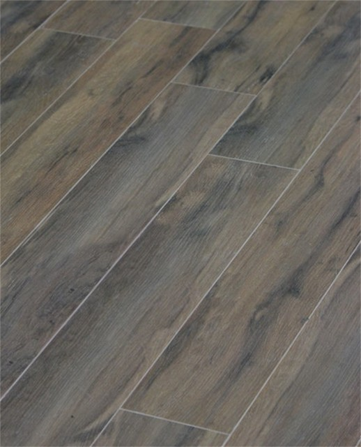 Porcelain Tile That Looks Like Wood? YES! - Kitchen - Orange .