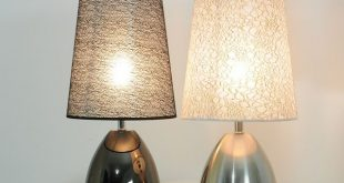 Touch Lamps Bedside moderner Schlafzimmer-Stoff-Touch-Schalter .