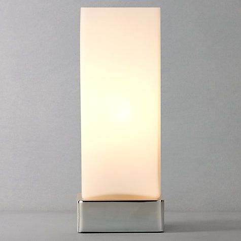 John Lewis & Partners Mitch Touch Lamp | Touch lamp, Table lamp .