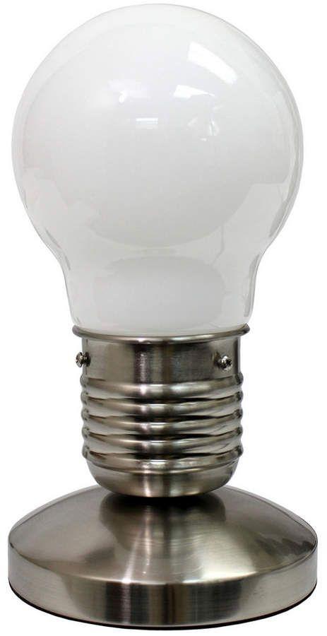 IDEA Simple Designs Edison Style Minimalist Bulb Mini Touch Desk .