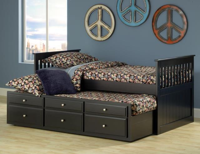 Twin Trundle Bed With Storage – Mattress Zone Outl