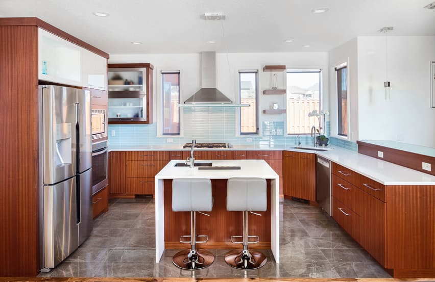 25 U Shaped Kitchen Designs (Pictures) - Designing Id