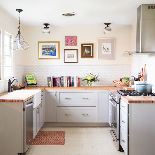 7 Small U-Shaped Kitchens Brimming With Ide