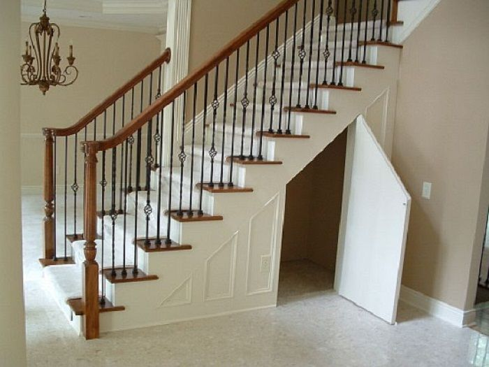 Maximizing Small Spaces – Under the Stairs Storage | Staircase .