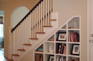 Ideas for Space Under Stairs | Shelves under stairs, Staircase .