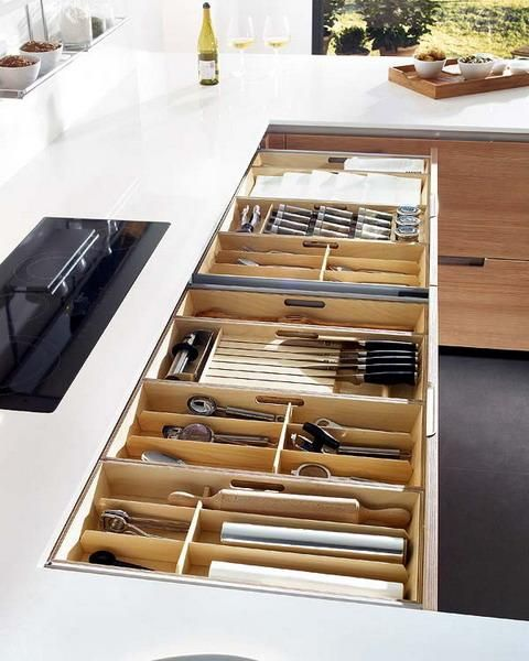 Unique Kitchen Custom Cabinets Design