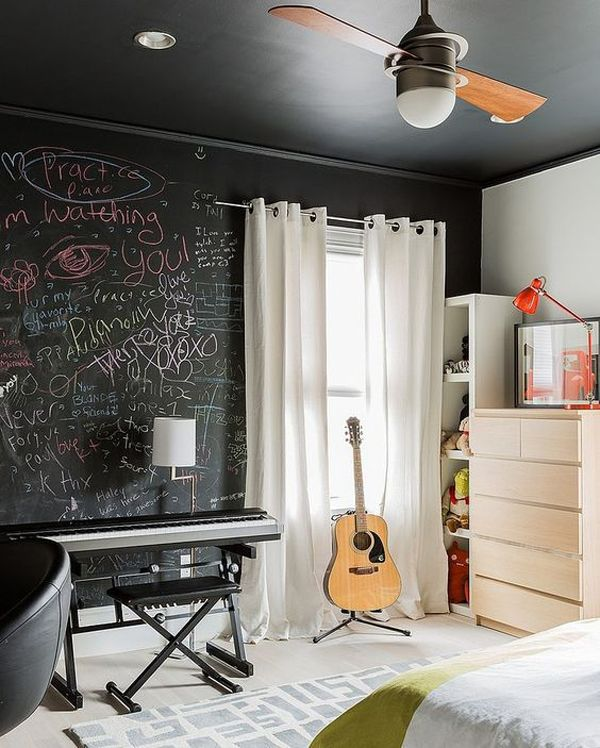 10 Super Cool Music Bedroom For Teenage Boys | Music bedroom .