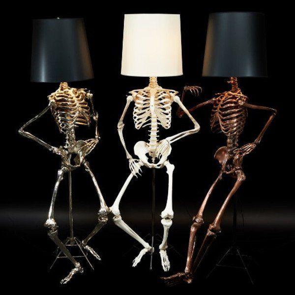 Unusual Floor Lamps | Unusual floor lamps, Cool lamps, White lamp .