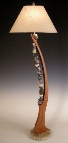 23 Best UNUSUAL FLOOR LAMPS images | Lamp design, Driftwood lamp .