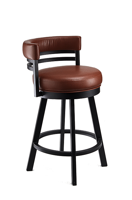 Buy Wesley Allen's Miramar Swivel Stool with Low Back • Free Shippin