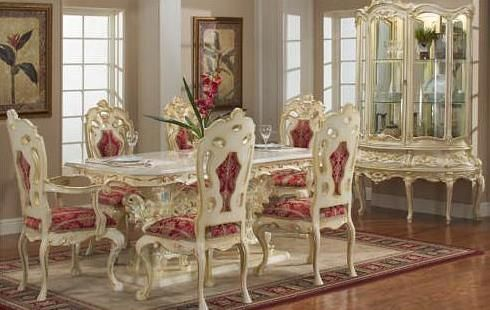 VICTORIAN DINING ROOM 755 WITH SMALL CHINA | Victorian style .