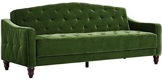 Vintage Tufted Sofa Sleeper