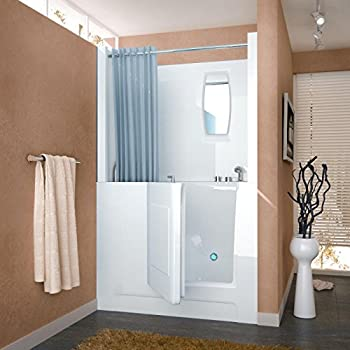 Spa World Venzi Vz2747rws Rectangular Soaking Walk-In Bathtub .