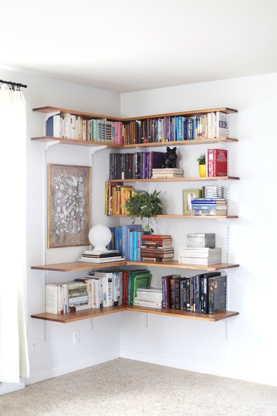 Wall-Mounted Shelving Systems You Can DIY | Home decor, Decor, Ho