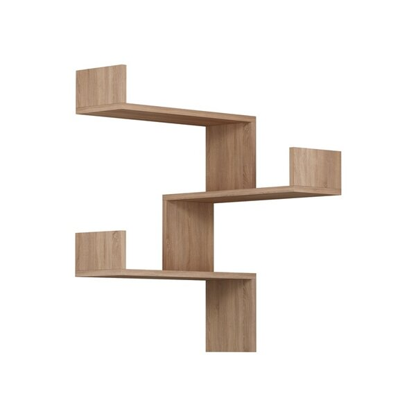 3 Shelf Modern & Contemporary Wall Mounted Corner Shelves You'll .