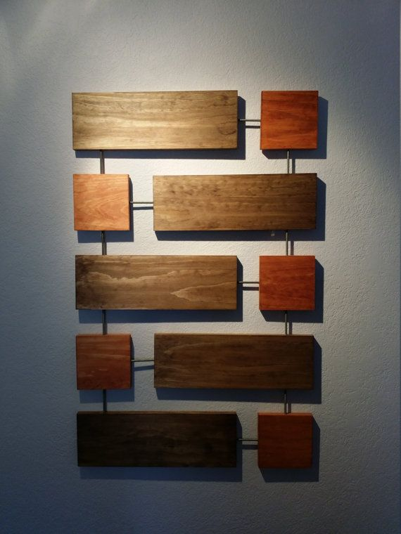 Cy Wall Sculpture Wood Wall Art Mid-Century Modern by CaseModern .