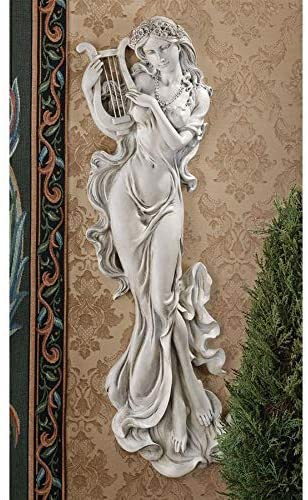 Amazon.com: Design Toscano Musical Muse Wall Sculpture: Home & Kitch