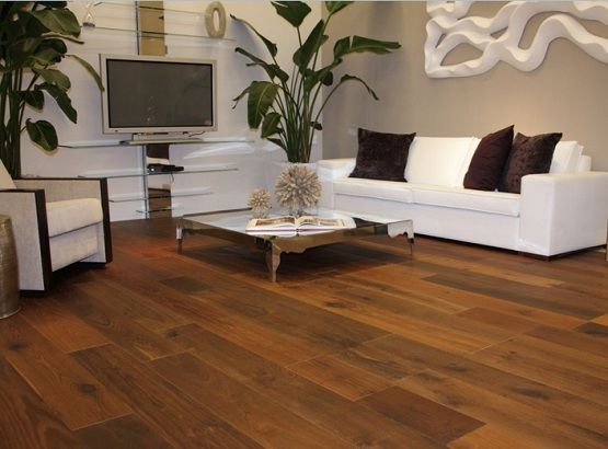 Elegant look living room with brazilian walnut flooring | House .