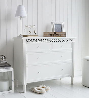 Chests of drawers in white for the bedroom – storiestrending.c