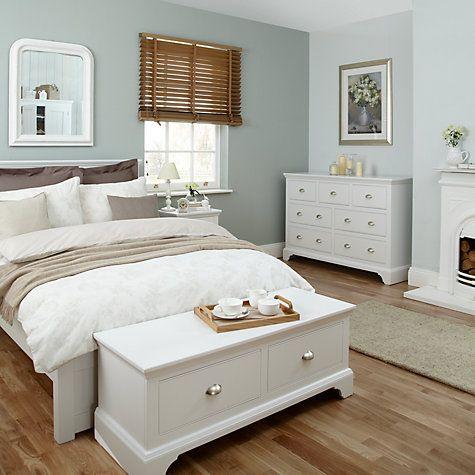 John Lewis & Partners Helston Bedroom Furniture | White bedroom .