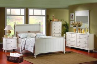 Sophisticated and elegant white bedroom furniture for adul