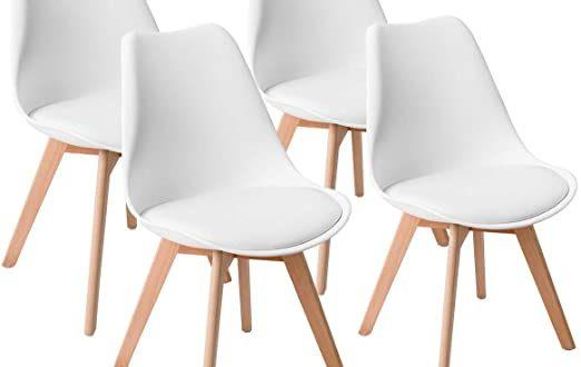 Amazon.com - Giantex Mid Century Modern DSW Dining Chairs .
