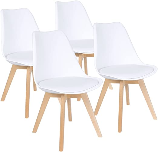 Amazon.com - Furmax Mid Century Modern DSW Dining Chair .