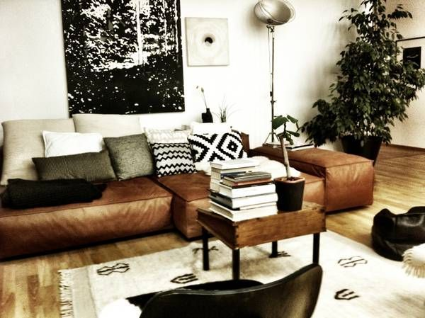 Stylish Tan Leather Sectional Sofa 1000 Ideas About Tan Leather .