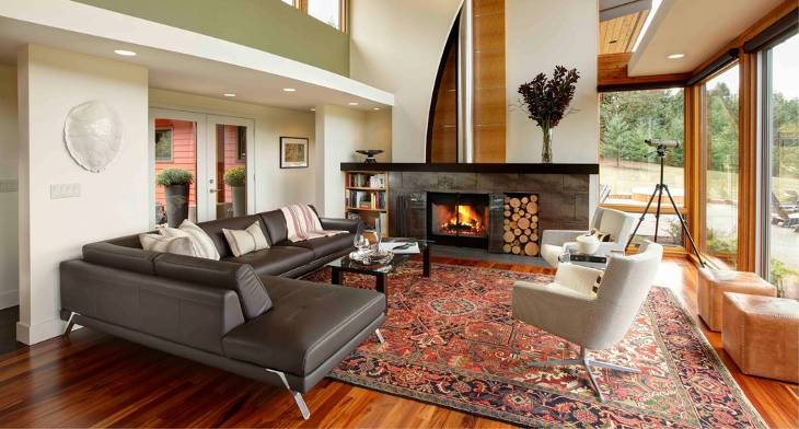 18+ Leather Sectional Sofa Designs, Ideas   Design Trends .