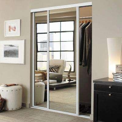 White - Contractors Wardrobe - Sliding Doors - Interior & Closet .