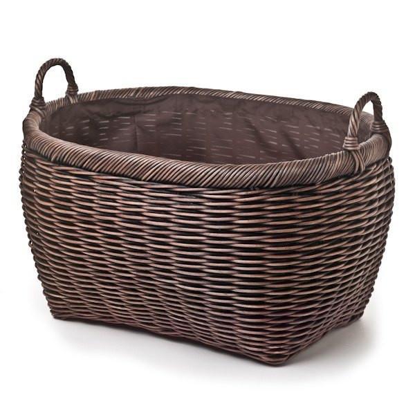 Oval Wicker Laundry Basket | Storage Basket | The Basket La