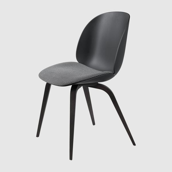 Beetle Dining Chair - Seat Upholstered - Wood base – GUBI Websh