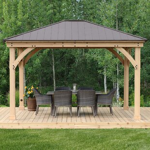 Outdoor Wood Gazebo | Wayfa