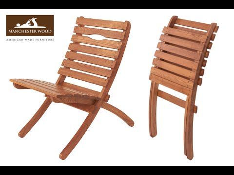 Folding Chair Wood~Folding Chairs Metal And Wood - YouTu