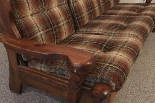 awesome Wood Frame Couch With Removable Cushions , Trend Wood .