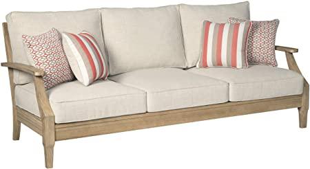 Amazon.com: Signature Design by Ashley - Clare View Sofa with .