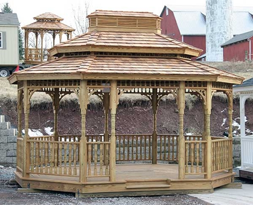 The 10x20 Gazebo Kits for Sale from Alan's Add Style to Any Proper