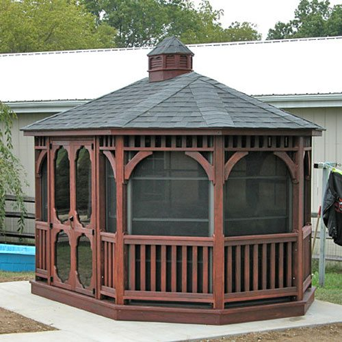Amish-Built Gazebo Kits | Country Lane Gazeb