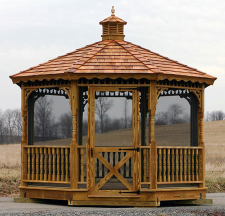 Wooden Gazebo Kits at Affordable Prices | Free Delivery | Open and .
