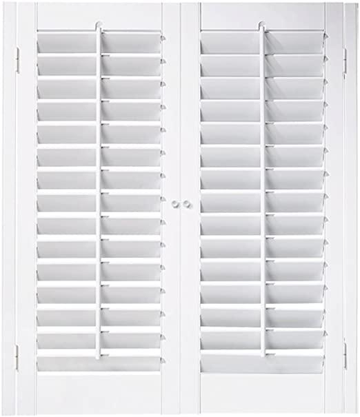 "Amazon.com: Interior Shutter Kit 2 1/4"" Louver, Plantation Style ."
